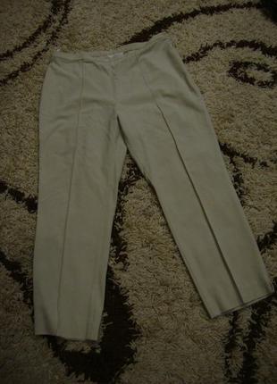 Красивые летние брюки, большой размер marks & spencer