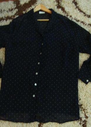 Рубашка, блуза , батал  , большой размер essence