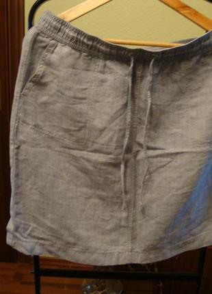 Юбка marks & spencer с карманами