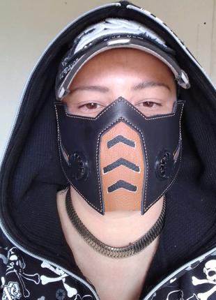 Маска. Кожаная маска