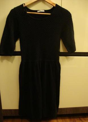 Платье теплое, трикотажное tu
