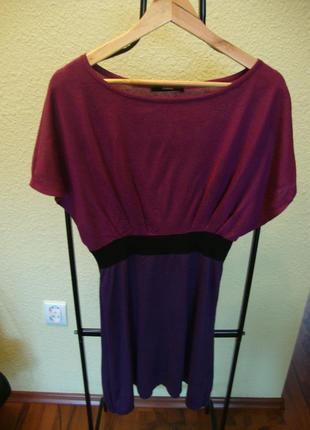 Яркое платье-туника р-р10-12 george