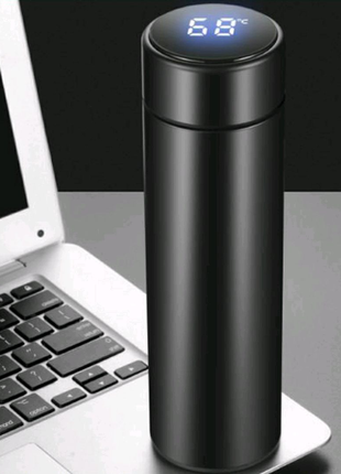 Термос С LED  индикатором температуры, сенсорный 500ML