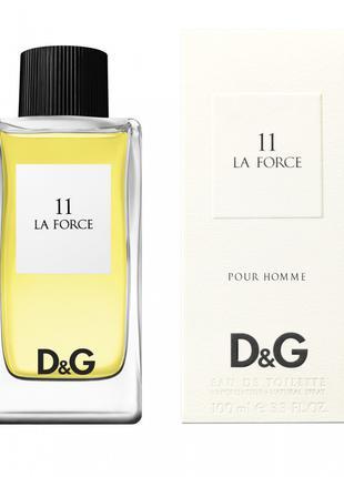 Dolce Gabbana 11 La Force pour Homme EDT 100 ml (лиц.)