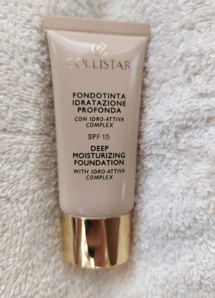Collistar moisturizing foundation spf 15