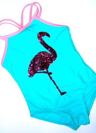 Сдельный купальник george 4-5 лет розовый фламинго