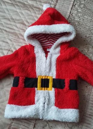 Дед мороз санта клаус костюм