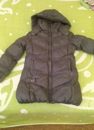 Демисезонная куртка пальто на 5-6 лет