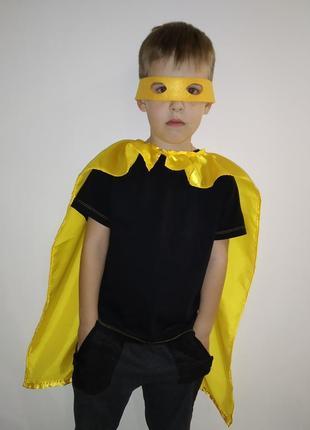 Костюм карнавальный новогодний детский супергероя на 4-7 лет