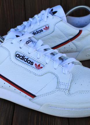 Кроссовки adidas continental 80 g27706 кожа оригинал 43р кеды