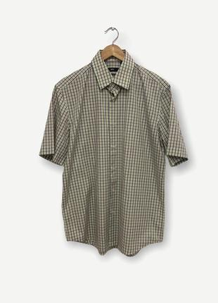 Рубашка сорочка hugo boss мужская винтаж оригинал