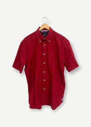 Рубашка сорочка tommy hilfiger мужская оригинал