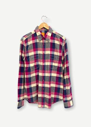 Рубашка сорочка hugo boss мужская оригинал клетка