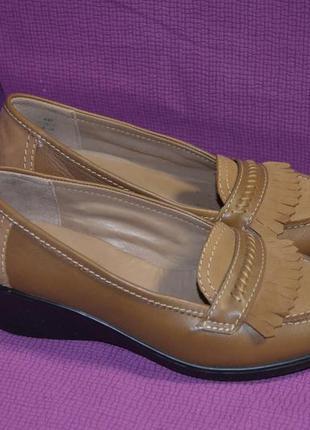 Кожаные туфли hotter 36 р.