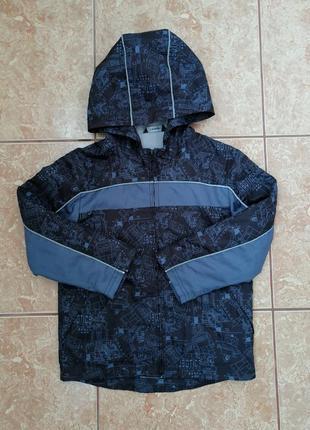 Стильная красивая демисезонная куртка модная деми курточка вет...