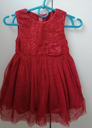 Стильное красивое платье нарядное платьице