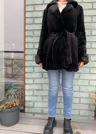 Шуба из стриженой норки obsession furs
