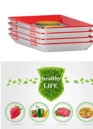 Лоток для хранения пищевых продуктов в вакуумной упаковке Clev...