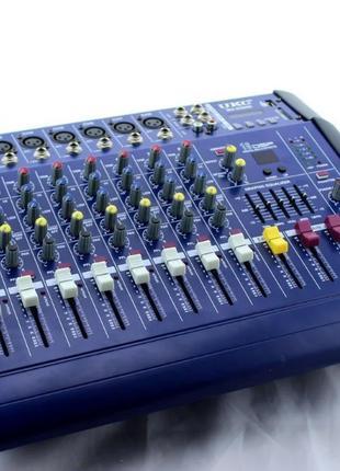 Аналоговый аудио микшер Mixer BT 8300D 8 канальный, 230V, 2А, ...