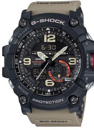 Мужские наручные часы Casio G-Shock 3 синие, таймер/секундомер...
