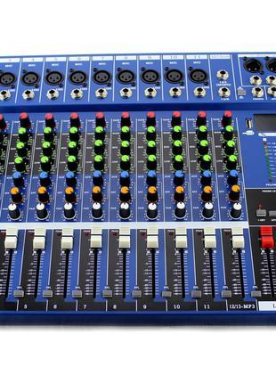 Аудио микшер аналоговый Mixer 12USB \ CT12 Ямаха 12 канальный,...