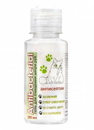 Антибактериальный гель ANTIBACTERIAL для очищения рук, 100мл, ...