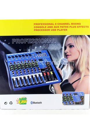 Аудио микшер аналоговый Mixer 8USB \ CT8 Ямаха 8 канальный, ми...