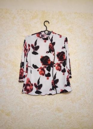 Нарядная блуза а-ля кимоно