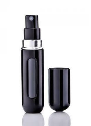 Флаконы для наливной парфюмерии и духов Барбара черный, туалет...