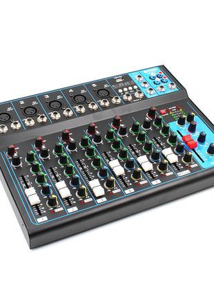 Активный аудио микшер Yamaha MG 07BT Bluetooth, USB/аудио инте...