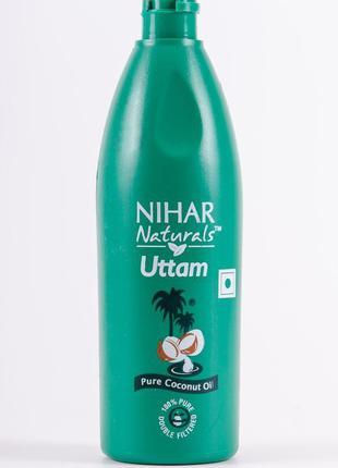 Кокосовое масло для восстановления и укрепления волос Nihar об...