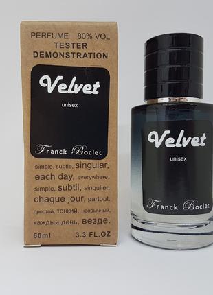 Franck Boclet Velvet - Selective Tester 60ml