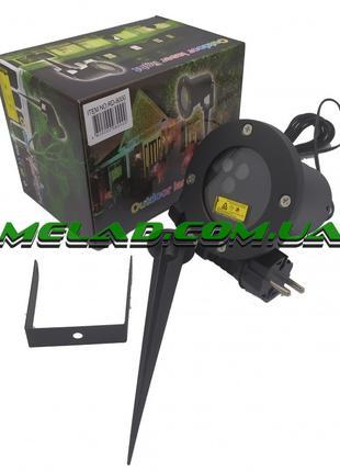 Лазерная установка для улицы и дома Amicia RD-8000 RGB, 3 цвет...