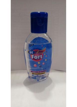 Антибактериальный гель Be Fort для очищения рук, спирт 60%, 30...