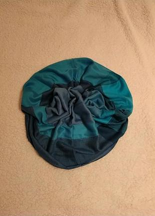 Серо-голубой шарф