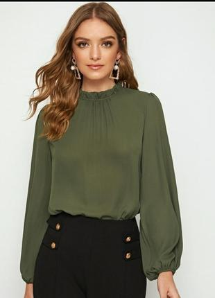 Блуза с интересным рукавом