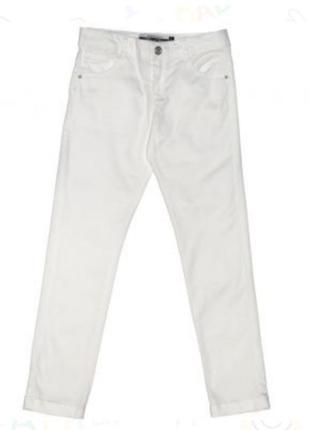 Белые джинсы большог размера