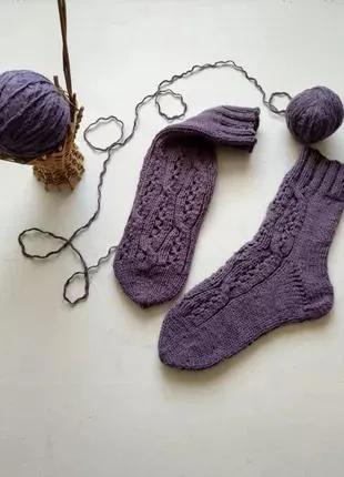 Вязаные носки  ручной работы женские
