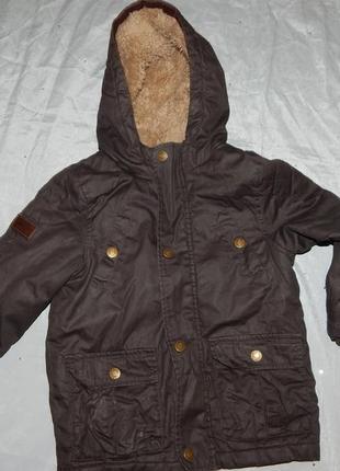 Куртка демисезонная модная на мальчика 3-4 года 98-104см