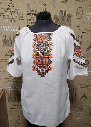 Вишита сорочка вишиванка блузка