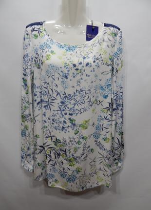 Блуза легкая фирменная женская ESPRIT 48-50 р., 193бж