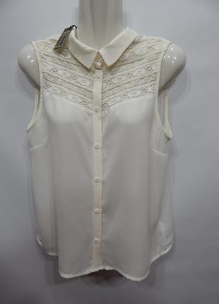 Блуза легкая фирменная женская DIVIDED by H&M; 46-48 р.086бж