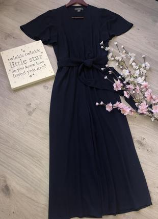 Классный комбинезон платье на запах, комбинезон кюлоти, брюки ...