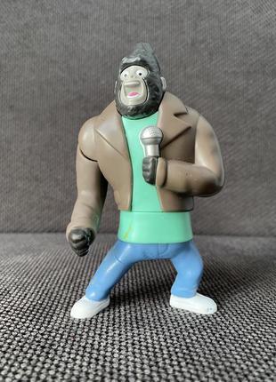 Ролевая игрушка фигурка певец с микрофоном пластик макдональдс