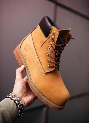 "Шикарные мужские ботинки/ сапоги timberland ""ginger"" без меха ..."