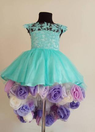 Пошив детских нарядных платьев и костюмов для выступлений и пр...
