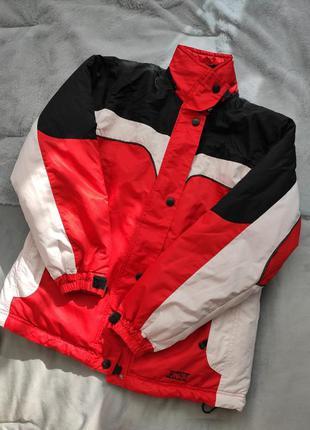 Куртка весенняя термо красная женская 48 50 размер спортивная ...