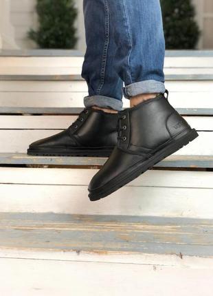 Ugg neumel boot! мужские кожаные зимние угги/ сапоги/ ботинки ...