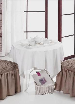 Натяжной чехол-юбка на стул 1шт всего 210гр