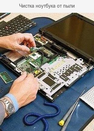 Чистка ноутбука и компьютера